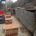 London Bricklayers | Asda Retaining Wall Restoration
