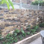 Brick wall with trellis | Brickwork Pro Ltd | Bricklayers In London